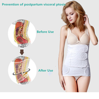 100% Cotton Postpartum Bandage Belly Band and Pelvis Belt Maternity Corset after pregnancy after childbirth Moisture Absorption