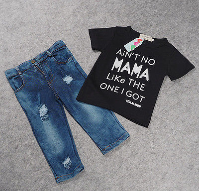 Newborn-Toddler-Infant-ClothingCool-Baby-Boy-Clothes-outfitsBaby-kids-T-shirt-Top-Tee-Ripped-Jeans-Denim-Pants-Outfits-Set-3