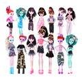 Nova Handmade BDCOLE Gosto-fabricantes de Roupas de Verão Shorts Capris Vestido Levando a Moda para Bonecas Monster High & para Barbie BJD