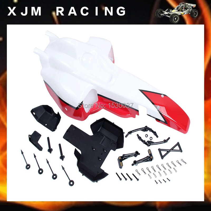FX Body Shell set Fit HPI KM Rovan BAJA 5B SS King Motor truck l oreal paris casting crème gloss 432 цвет 432 шоколадный трюфель