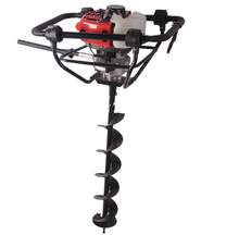 52cc gasoline ground hole drill earth auger with brake vibration system earth drill auger 1E44F-5