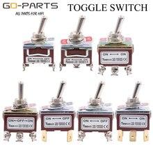 TOOWEI SPST DPDT DPST SPDT przełącznik ON ON ON OFF i staje w sytuacji sam na sam ON OFF zasilania AC przełącznik kołyskowy AC 250V 15A 125V 20A