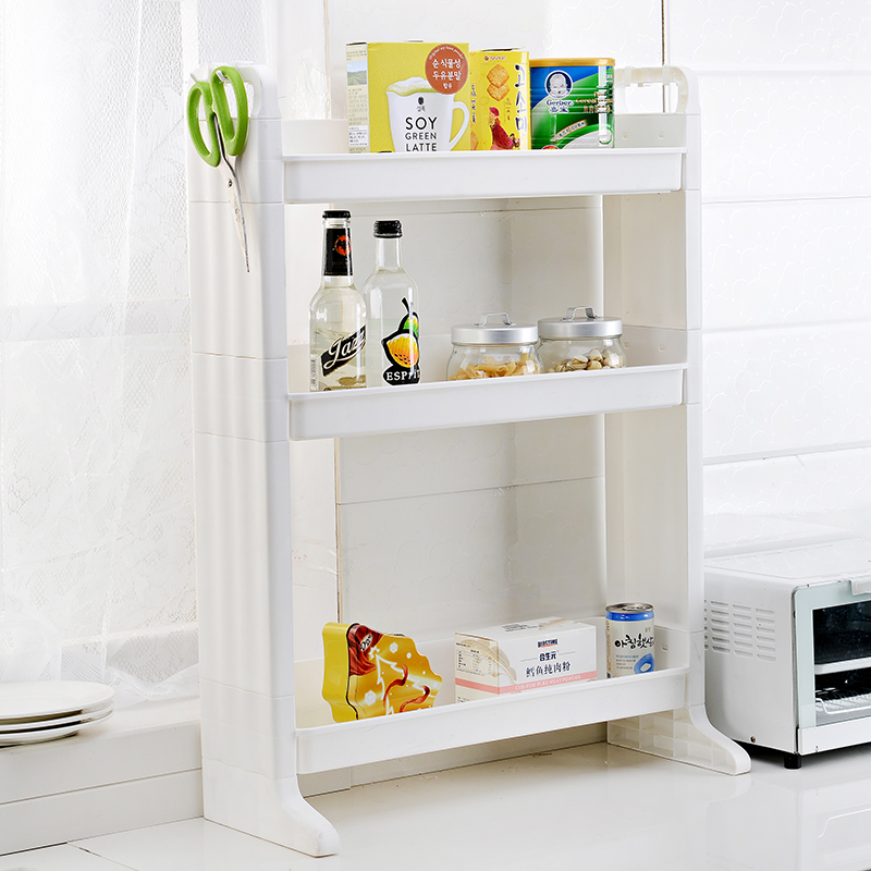 2016 1pc Bathroom And Kitchen Plastic Storage Rack Shelf 3