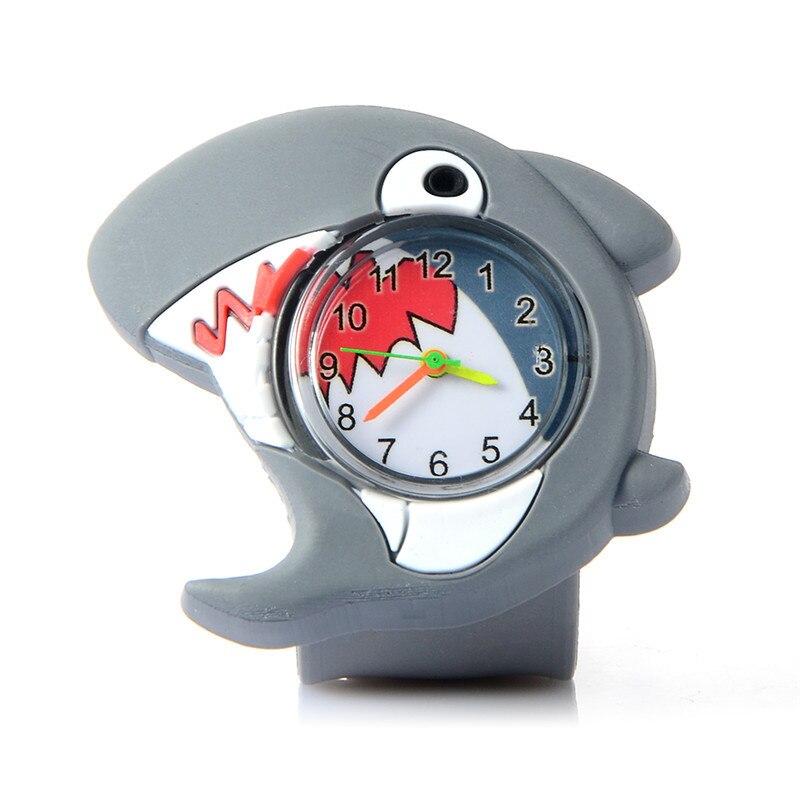 3D мультфильм животных кварца наручные часы милые дети часы Спорт Дети часы кремний ремень умная девочка студент часы