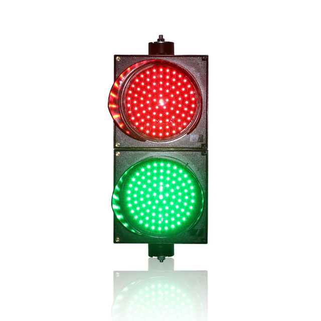 200mm red green traffic signal light horizontal or vertical 200mm red green traffic signal light horizontal or vertical installation pc shell led traffic light for aloadofball Image collections