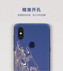 Image 3 - 원래 Xiaomi 미 믹스 3 케이스 (4g 버전) 고급 그림 하드 PC 커버 케이스 Xiaomi 미 MIX3 믹스 3 커버 울트라 슬림 Funda Coque