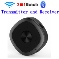 CSR8675 BTI 031 Bluetooth 5.0 multipoint Transmitter Receiver Stereo Music Wireless Bluetooth Adapter APTX HD Low Latency 3.5mm