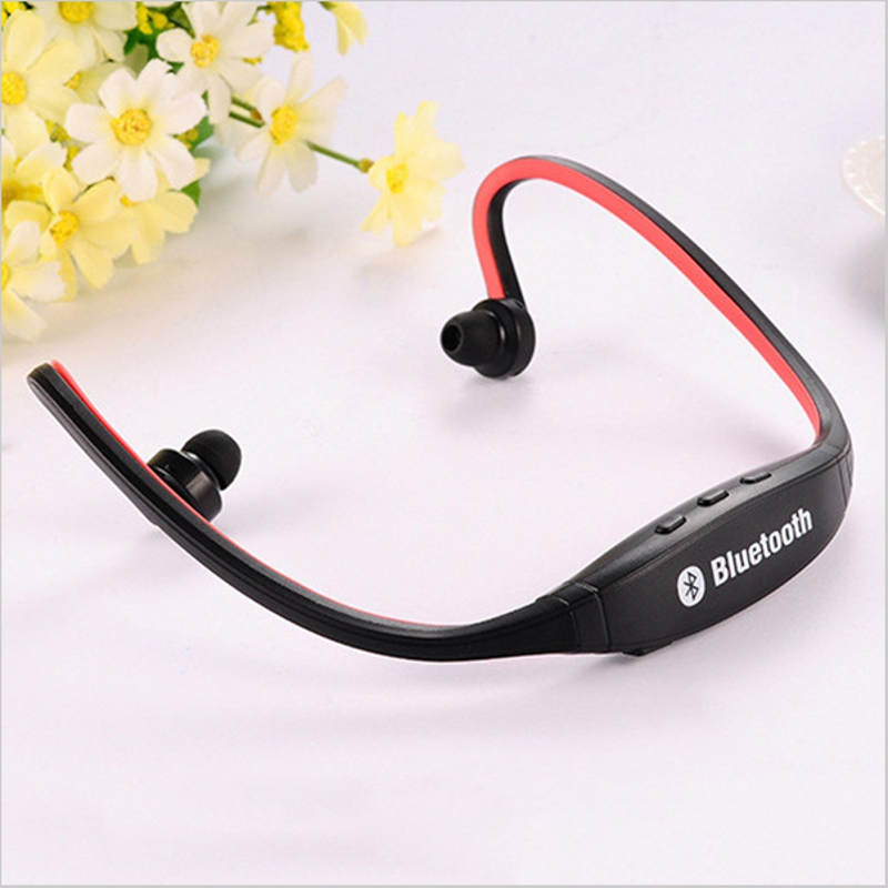 2018 Fashion <font><b>S9</b></font> <font><b>Bluetooth</b></font> 4.0 Version Sports Gym Music Earphones for Workout Sweat Proof Wireless +Mic Universal Call Answering image