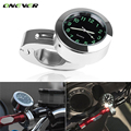 Universal 22mm Motorcycle Handlebar Mount Quartz Clock Watch for Harley Davidson Honda Yamaha Suzuki Kawasaki