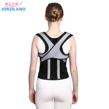 цены JORZILANO Back Posture Corrector corset Lumbar Brace Spine Support Belt Adjustable Adult Shoulder brace Belt Body Health Care