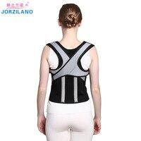 JORZILANO Back Posture Corrector corset Lumbar Brace Spine Support Belt Adjustable Adult Shoulder brace Belt Body Health Care