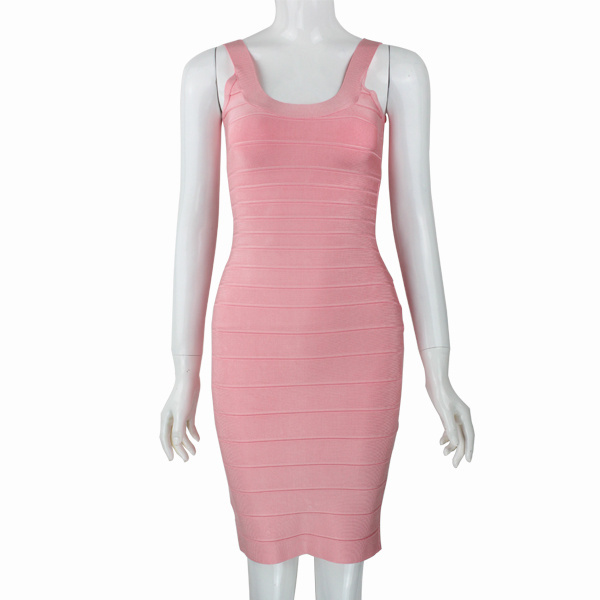Fashion Spaghetti Sexy Bodycon Bandage Dress Summer Sexy -5454