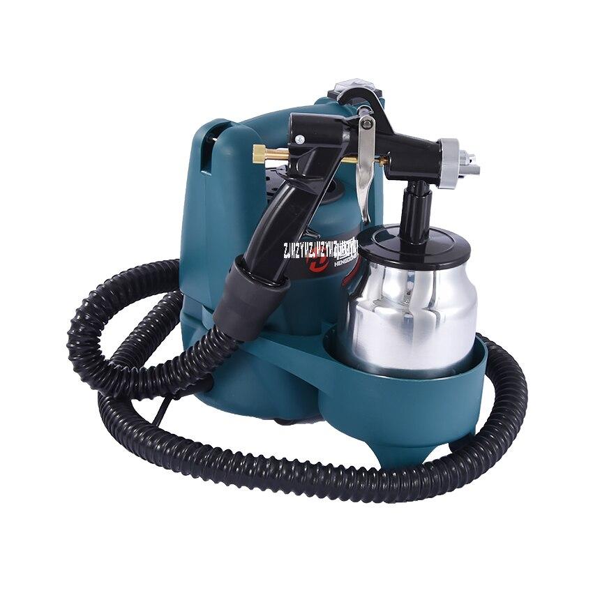 Neue Ankunft Elektrische Spritzpistole HD3010 Hohe-druck Farbe Maschine Latex Farbe Sprayer Malen Spray Gun 220-240 v 800 watt 70DB 1,0mm