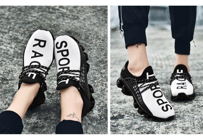 18 New Breathable QIYHONG Men Sneakers Unisex Couple Shoes Basket Femme Hard-Wearing Tenis Feminino Male Footwear Plus Size 24