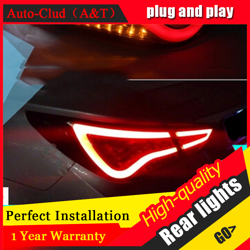 AUTO.PRO For Hyundai Sonata led taillights 2011-2014 parking led Sonata 8 tail lamps led rear lights led light guide car styling free shipping led tail lamps assy bm style light bar rear lamps tail lights fit for hyundai elantra 2012 2015