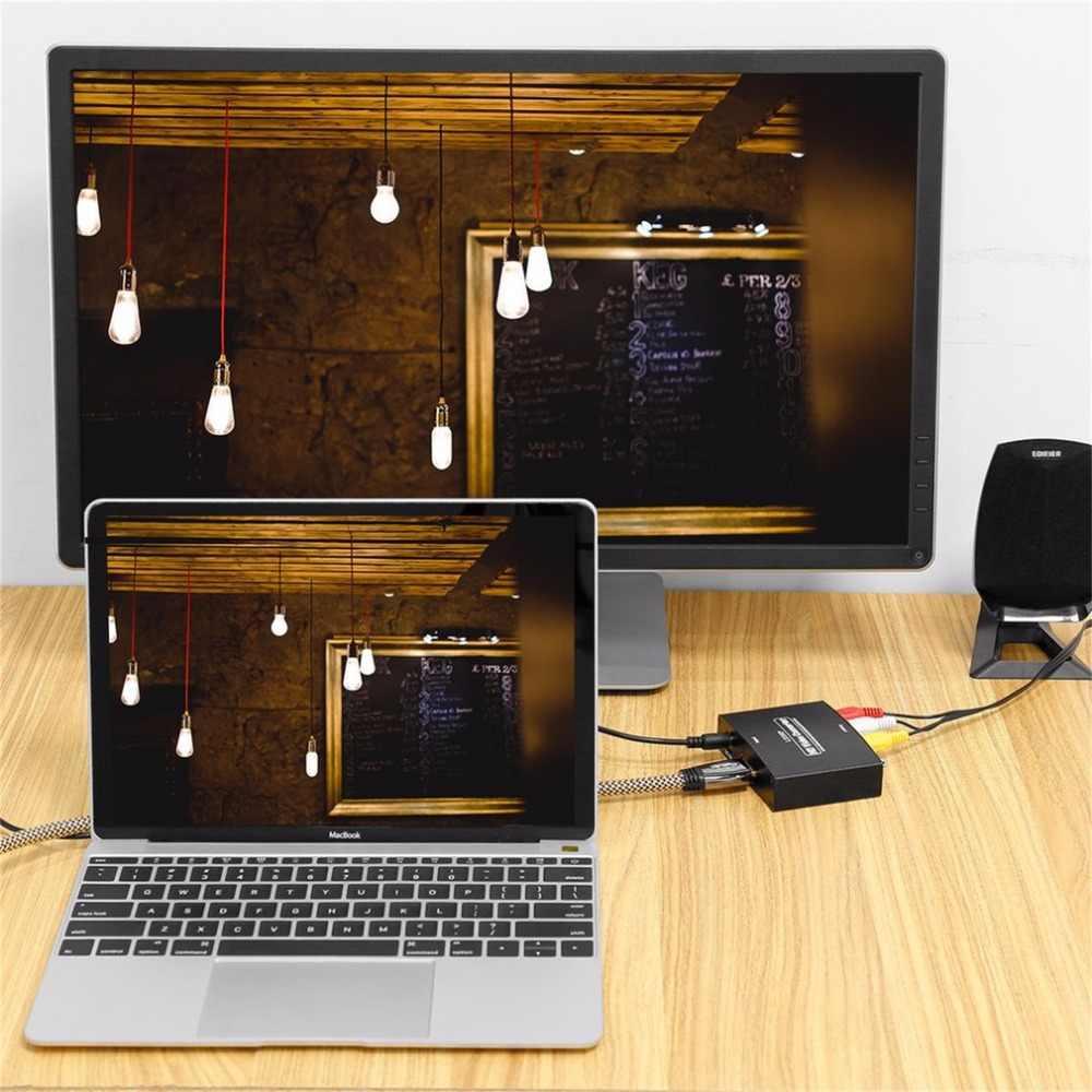 HDMI إلى RGB مكون (يبببر) فيديو + R/L محول الصوت تحويل HD التلفزيون HD تحويل الفيديو 2 قناة LPCM 1.65 جيجابايت/165 MHz لنا المكونات