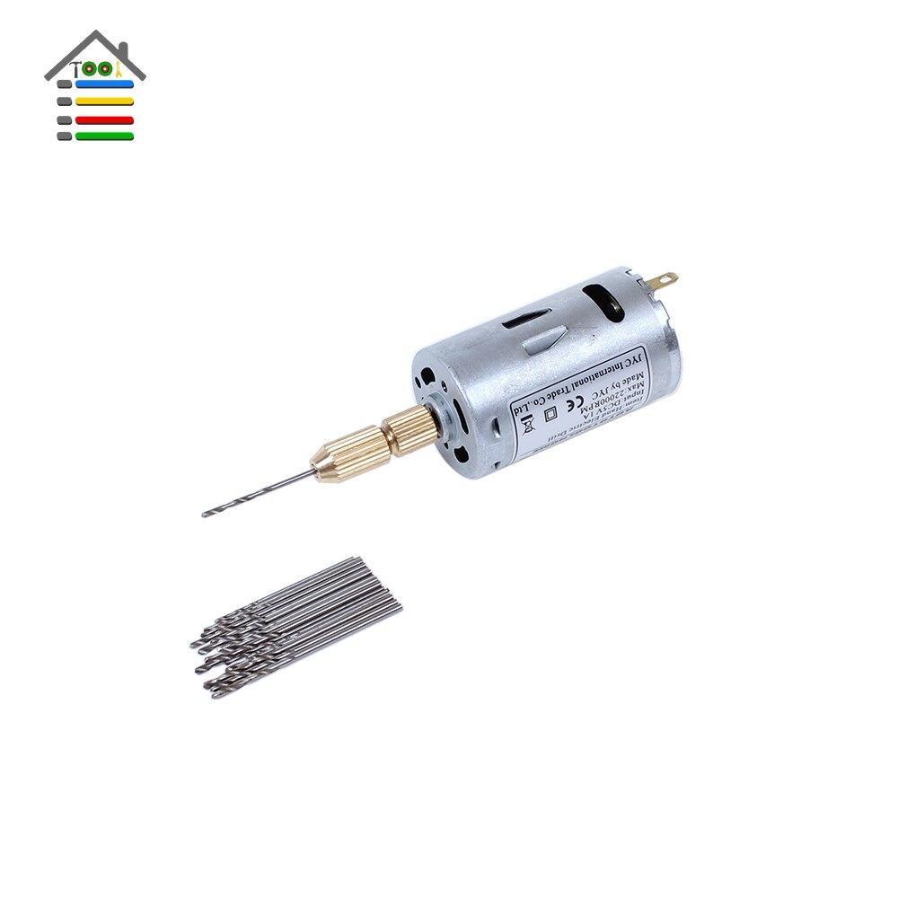 New Mini Micro Small 12v Electric Pcb Motor Drill Press