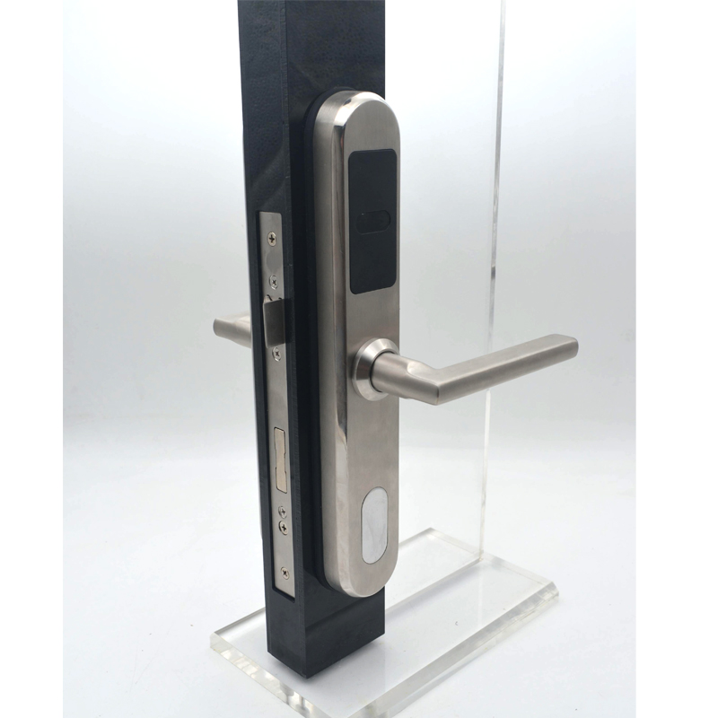 European style Electronic RFID Door Lock Swipe Card Unlock fit 30mm thickness door - 3