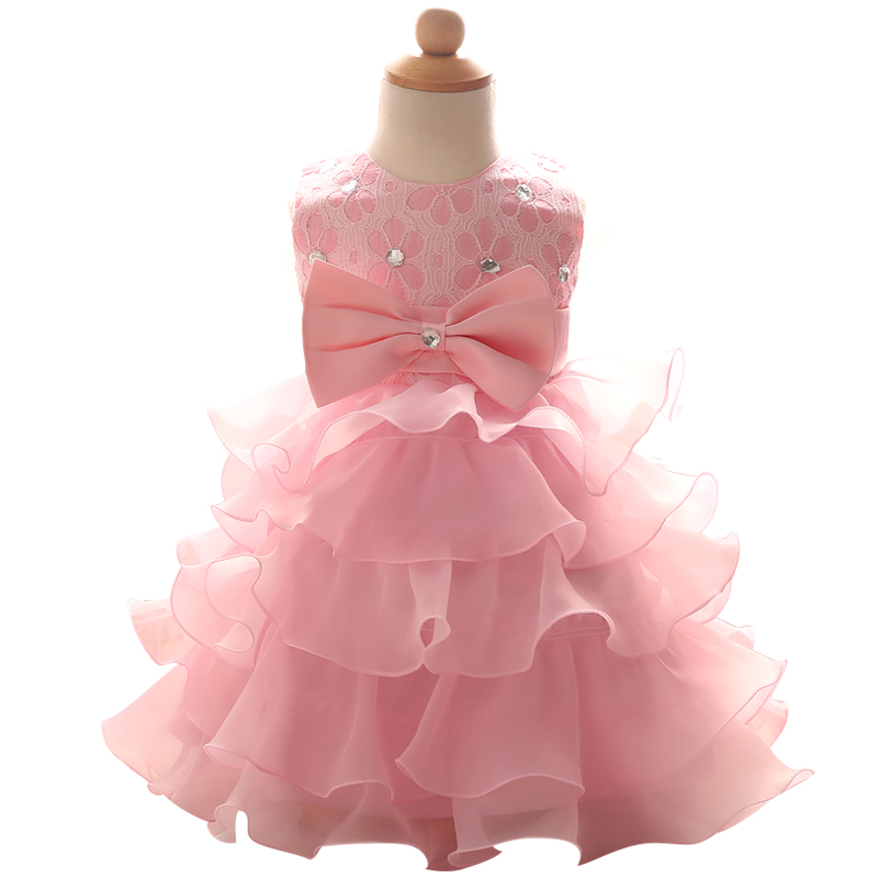 Asombroso Vestido Del Desgaste Del Partido Para El Bebé ...