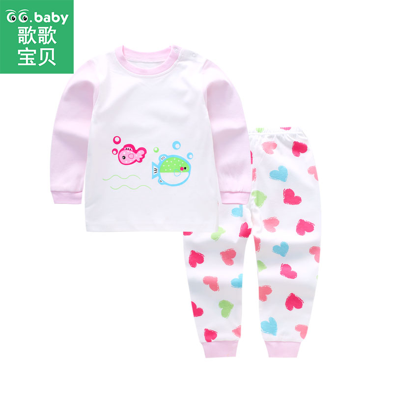 Cotton Kids Baby Sets Clothing Winter Newborn Long Sleeve Autumn Baby Boy Pants Set Suit Baby Boy Set Clothes Baby Girl Outfits