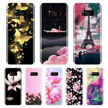 цена на Phone Case For Samsung Galaxy S5 S6 S7 Edge S8 S9 Plus Case Silicone Fashion Back Cover For Samsung Galaxy Note 4 5 8 9 Case