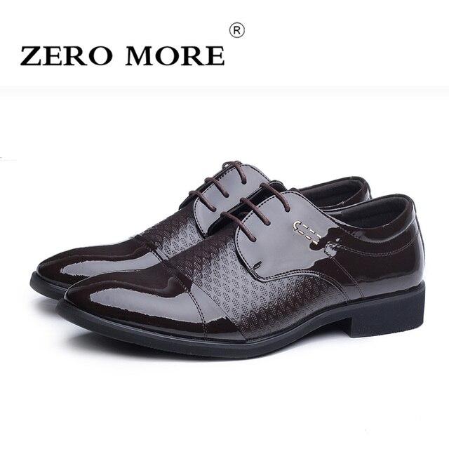 5d0f128e6 Zapatos de vestir para Hombre 2017 ZERO MORE de diseñador de marca de lujo  Zapatos formales