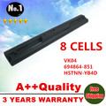 8 CELLS Laptop battery  695192-001 VK04 694864-851  For Hp Pavilion TouchSmart 14 15 Ultrabook 14 15 Sleekbook  14 15 SERIES
