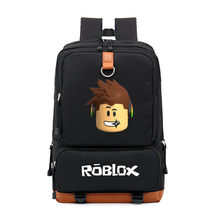 9180b80d7b6 Hot Game Roblox Business Travel Laptop Bags Men Backpack Teenager Kids Boys  Girls Student School Bags