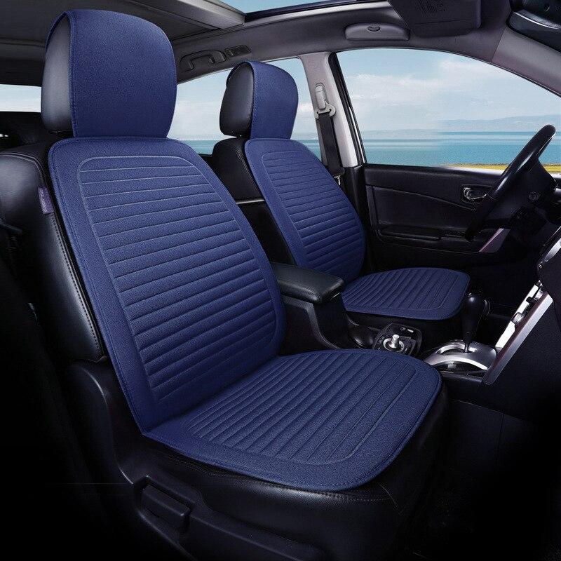 Universal Blue//Black Eco-Leather Full Set Car Seat Covers Mercedes W126 W140