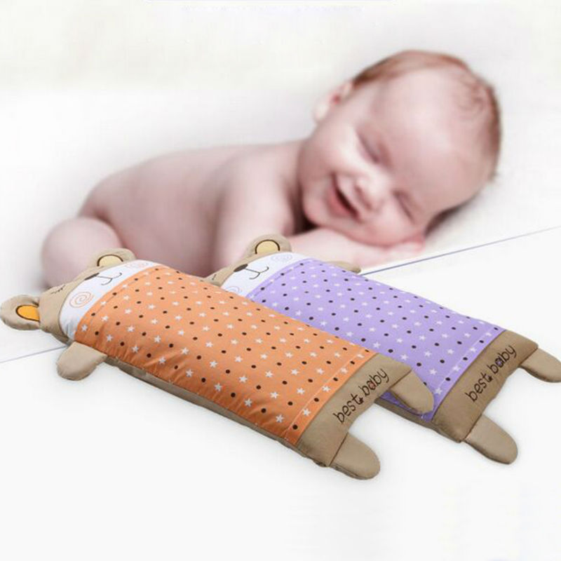 Bestbaby 100 Cotton Baby Pillow Infant Toddler Lovely