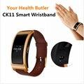 CK11 Bluetooth Inteligente Relógio À Prova D' Água IP67 Inteligente Pulseira de Saúde a Pressão Arterial Medida da Frequência Cardíaca Relógio de Pulso para ios Android