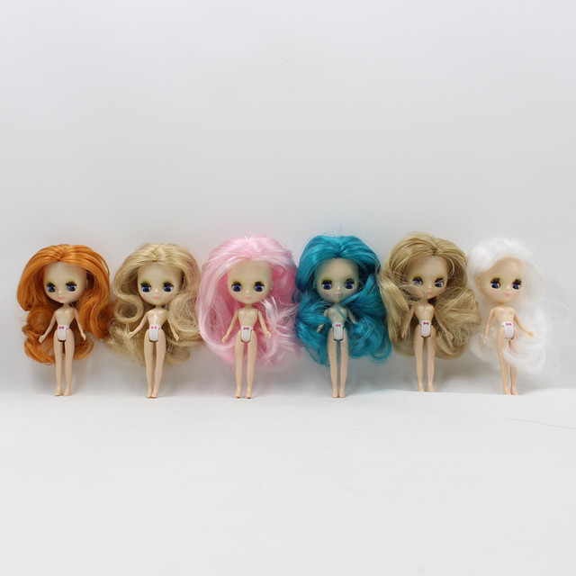 ICY Mini Blythe Doll Colorful Hair 10cm