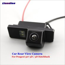 Liandlee For Peugeot 307 3D / 5D Hatchback Car Reverse Parking Camera Backup Rear View Camera / SONY CCD Integrated Nigh Vision sony hd ccd special car rear view reverse backup camera reversing for peugeot 206 207 306 307 308 406 407 5008 partner tepee