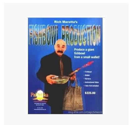 1 pièces poissons bol Production rue scène gros plan tour de magie 83158