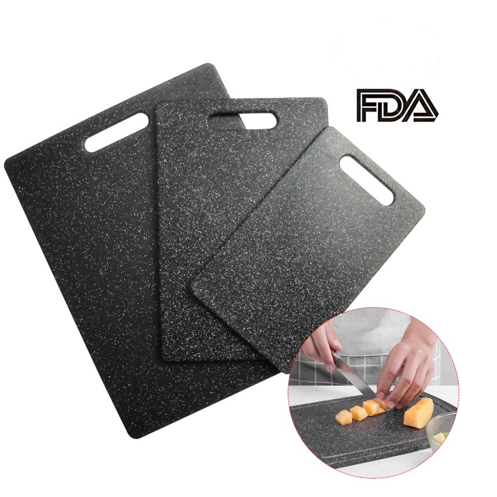 1x Plastic Cutting Board Tpr Material Kitchen Chopping Board Set 3 Piece Unique Marble Appearance Design Dishwasher Safe Chopping Blocks Aliexpress
