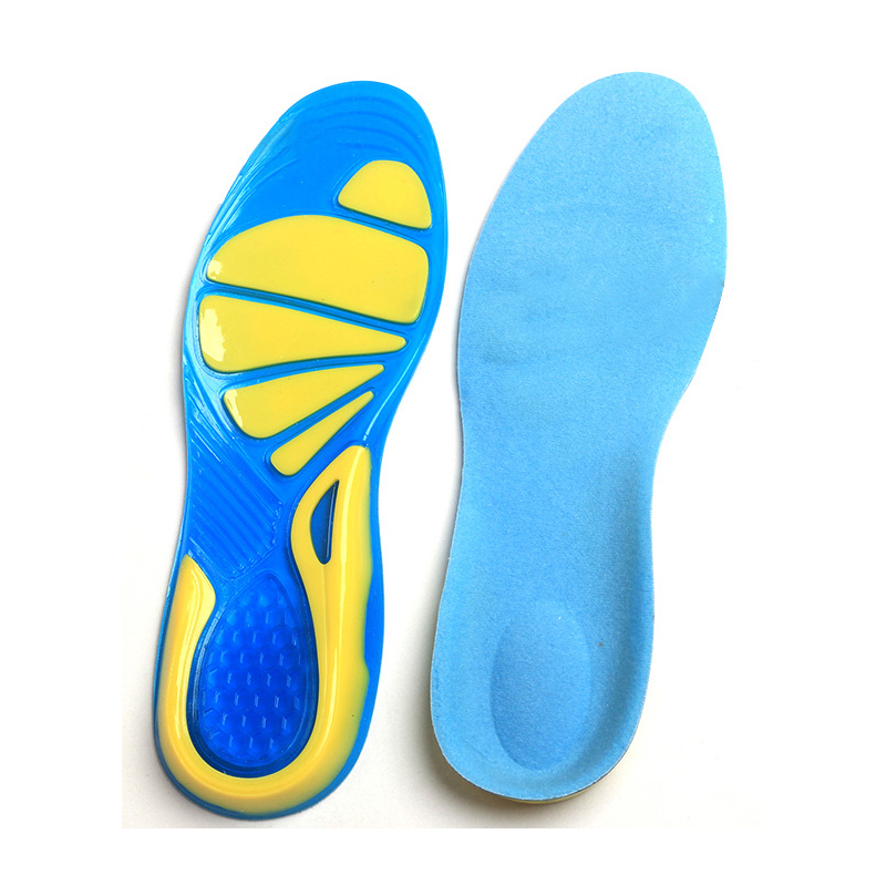 Silicon Gel Insoles Foot Care Plantar Fasciitis Heel Spur Running Sport Insoles Shock Absorption Pads arch orthopedic insole expfoot orthotic arch support shoe pad orthopedic insoles pu insoles for shoes breathable foot pads massage sport insole 045