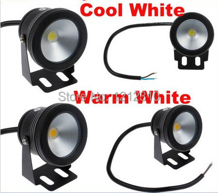 10W LED Flood Light Underwater Lamp Cool/Warm White Waterproof IP68 DC12V 1000LM led spotlight,outdoor LED underwater light ...
