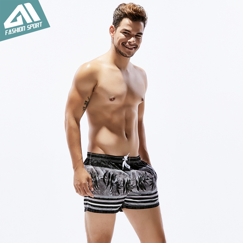 Seobean Summer Pattern vīriešu galdiņa šorti ar stipru vidukļa - Sporta apģērbs un aksesuāri - Foto 6