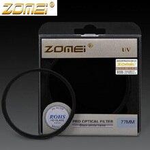 Zomei 49/52/55/58/62/67/72/77/82 мм УФ-фильтр для защиты объектива фильтр для canon nikon sony nex pentax olmpus 500d 600d d 7100 d3100