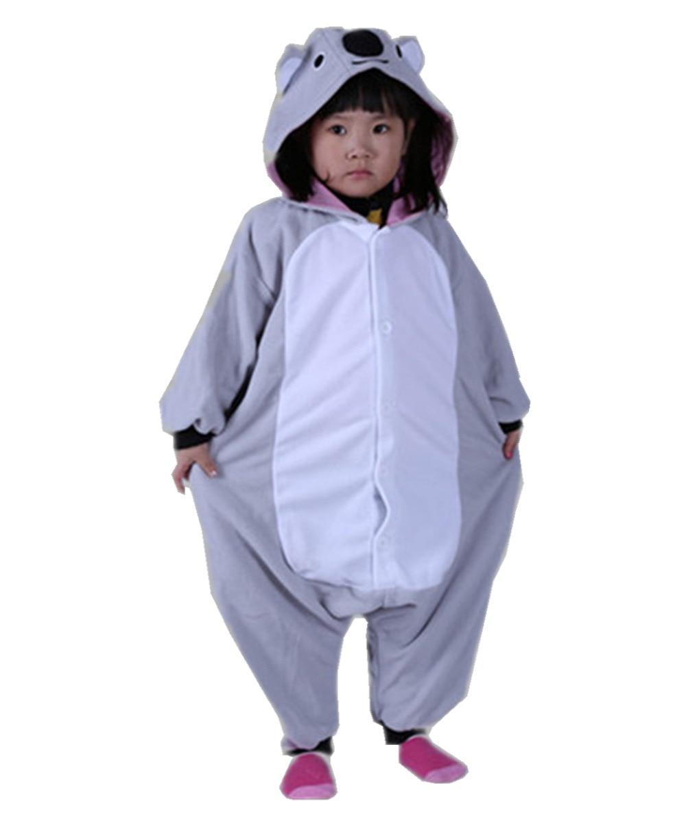 f9570f48ec90 Kids Baby Boys Cosplay Australia Koala Onesies Pajama Costumes Winter  Cartoon Pajama Carnival Halloween Christmas Party Pyjamas