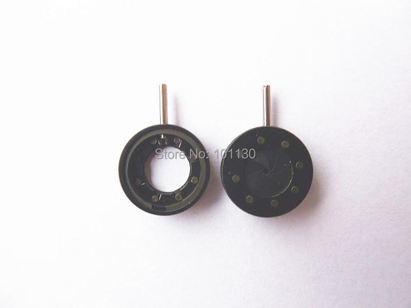 Optical Iris diaphragm 1-8mm Adjustable Iris Aperture Monitor Parts Condenser microscope with 8 blades  цены