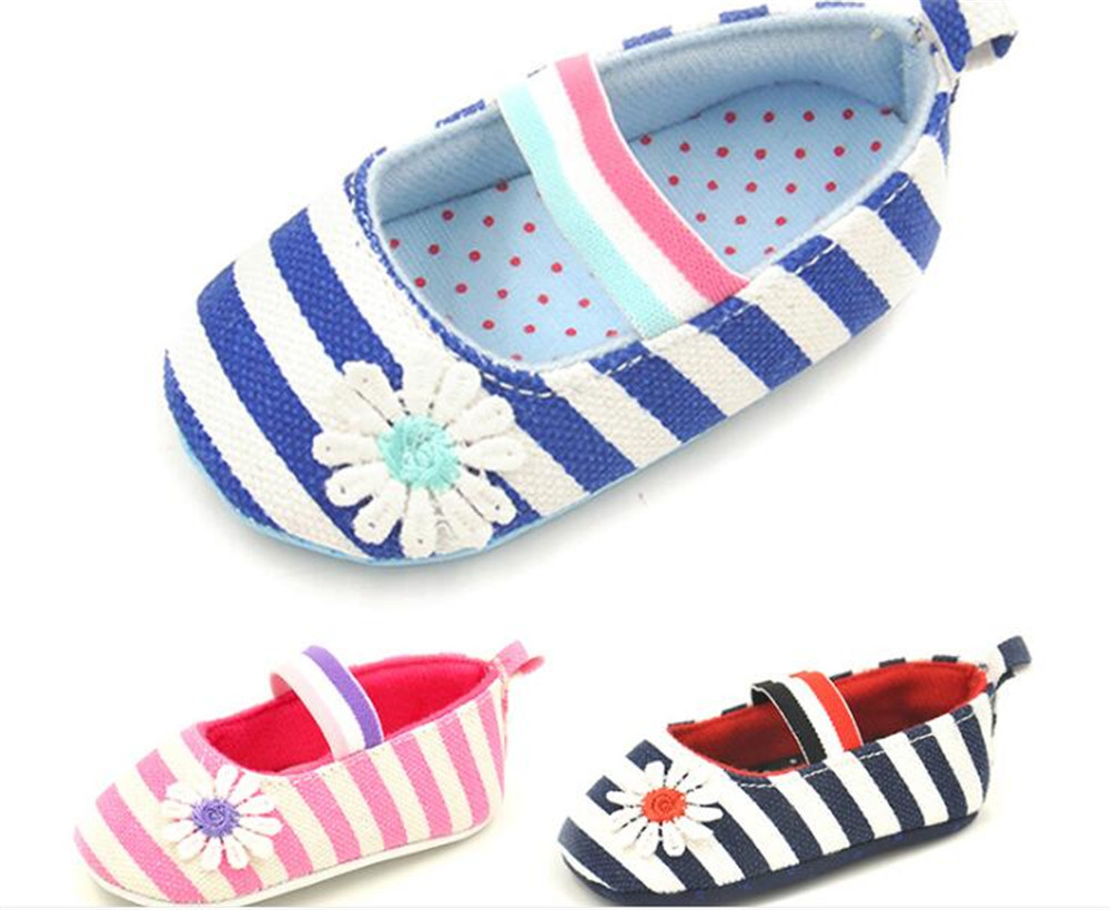 0 12 Mois Bebe Filles Berceau Chaussures Infantile Lit Coton Enfant