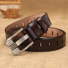 [DWTS]high quality women fashion  belt female genuine leathe