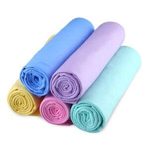 Image 2 - 44*32*0,2 CM Super sauber PVA Chamois Car Wash Handtuch Reiniger Auto Zubehör Bildschirm Reinigung Haar Trocknen tuch