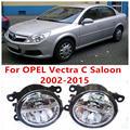 Для OPEL Vectra C Седан 2002-2015 Противотуманные фары LED Автомобилей Стайлинг 10 Вт Желтый Белый 2016 новые фары