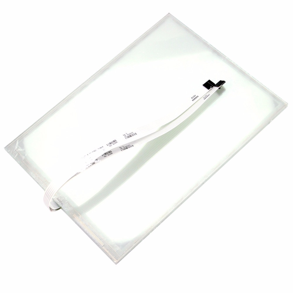 New 17.1 Inch T171S-5RA001N-0A28R0-300FH 5 Wire Industrial Touch Screen Glass Panel Digitizer цена