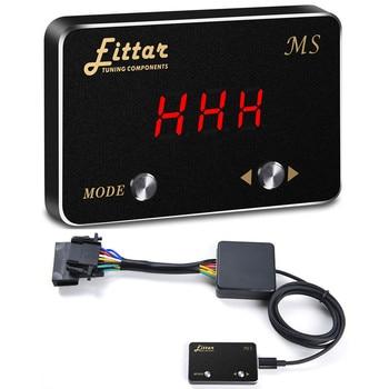 8 Modes sensibilité Multiple ajuster voiture contrôleur d'accélérateur électronique pédale Commander Booster de pédale pour PEUGEOT 5008 2010 +