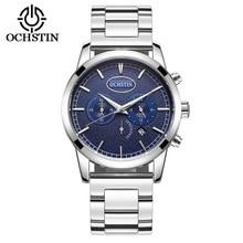 Men Watches Top Brand Luxury Fashion Military Sports Wrist Watch OCHSTIN Full Steel Male Chronograph Relogio Masculino Clock
