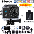 """Russia Delivery Add Two Battery Action Camera go style pro 4 Ultra HD 4K@30FPS DVR 16MP 2.0""""LCD waterproof 30M Action Cam"""