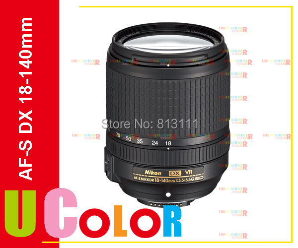 New Nikon Nikkor AF S DX 18 140mm f 3 5 5 6G ED VR Telephoto